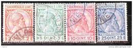 Albania  1913 Mino 29-32 - Albanien