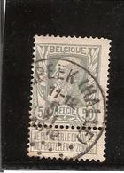 Belgique N°78 LEMBEEK (HALLE) - 1905 Grosse Barbe
