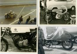 SPORT - LE MANS - Lot De 4  Photos De Motos:  Photos 9x13 - Motorcycle Sport