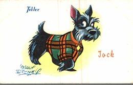 CARTE POSTALE PUBLICITAIRE CHOCOLATS TOBLER  WALT-DISNEY  JACK - Disney