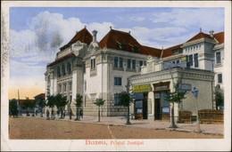 Postcard Busäu Buzău Palatul Justitici 1914 - Rumänien