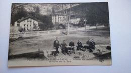 Carte Postale ( Y3 ) Ancienne De Amélie Les Bains , Terrasse Du Casino - Otros Municipios