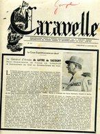 JOURNAL CARAVELLE CONSACRE A LA  MORT DE LATTRE  DE TASSIGNY JANVIER 1952  INDOCHINE - Histoire