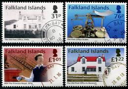 Falkland 2018 - Histoire Des Services Postaux Aux Falkland - 4 Val Neufs // Mnh - Falkland Islands