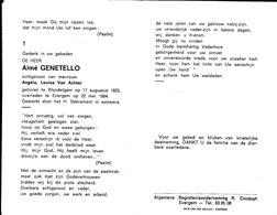 Aimé Genetello (1923-1984) - Images Religieuses