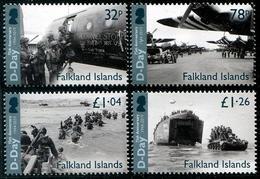 Falkland 2019 - D-Day, 2e Guerre Mondiale, Débarquement En Normandie - 4 Val Neufs // Mnh - Falkland Islands