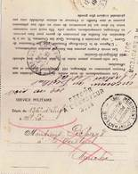 Guerre 1914-1918  Carte Lettre Soldat Pichard Tombé Aux Mains De L'ennemi Envoyé à Le Teilleul (50)  Rare - Militaria