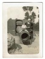 Petite Photo 9 Cm X 6,5 Cm - 1929 - Pièce Du Leugenboom à Moere - Gistel - 2 Scans - Lugares