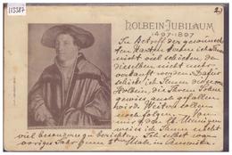 HOLBEIN JUBILAUM 1497-1897 - B ( USURE AUX ANGLES ) - Switzerland