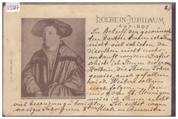 HOLBEIN JUBILAUM 1497-1897 - B ( USURE AUX ANGLES ) - Sonstige
