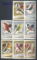 Romania 1966 Mi 2500-2507 MNH ( ZE4 RMN2500-2507 ) - Oiseaux