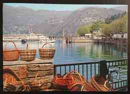 LUINO (Varese) - Lago Maggiore - Lungolago  - Battello   -  Vg L2 - Luino