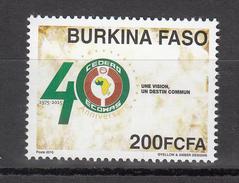 2015 Burkina Faso Ecowas Anniversary Complete Set Of 1 MNH - Burkina Faso (1984-...)