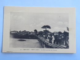 C. P. A. : Benin, Dahomey : PORTO-NOVO : Le Débarquement Du Chaland, Animé - Benin