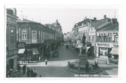 RO 06 - 16286 GALATI, Market, Romania - Old Postcard, Real PHOTO - Used - Rumänien