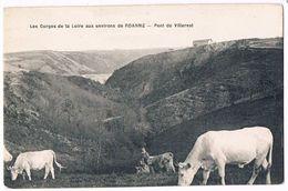 VILLEREST  42  Une Vue Champetre Avec Le Pont - Frankrijk