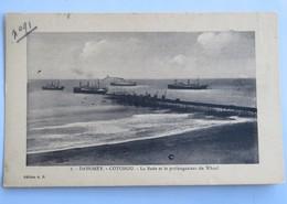C. P. A. : Benin, Dahomey : COTONOU : La Rade Et Le Prolongement Du Wharf - Benin