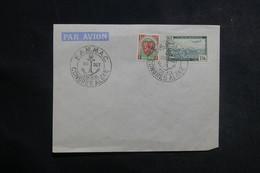 """ALGÉRIE - Oblitération Du Congrès  """" FAMAC """" D'Alger En 1948 Sur Enveloppe - L 41125 - Briefe U. Dokumente"""