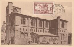 Carte Maximum - Collégiale De Romans (Timbre YT 839) - Obl. 14/05/1949 - Maximum Cards