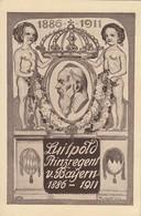 Bayern Privat-GS Minr.PP27 Luitpold Prinzregent Von Bayern 1886-1911 Postfrisch - Bavière