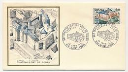 FRANCE-REUNION - Enveloppe FDC Thiaude - Chateau Fort De Sedan - 16/01/1972 - Covers & Documents