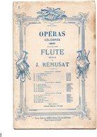 Opéras Pour Flûte Seule Par J.Remussat- N 1 Le Barbier De Séville - Opéra