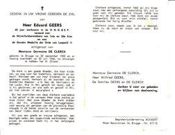 Eduard Geers (1903-1966) - Devotion Images