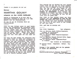 Martha Gouwy (1907-1982) - Devotion Images