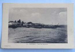 C. P. A. : Benin, Dahomey : Petit Port Lagunaire - Benin