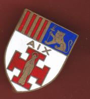 59627-broche.blason Aix En Provence... - Villes
