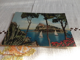 CARTOLINA PONTE D'ISCHIA-CASTELLO ARAGONESE-VIAGGIATA 1958 - Napoli