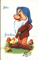 CARTE POSTALE PUBLICITAIRE CHOCOLATS TOBLER  WALT-DISNEY  GRINCHEUX - Disney