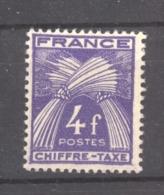 France  -  Taxes  :  Yv 74  ** - Portomarken