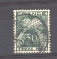 France  -  Taxes  :  Yv 80  (o) - Taxes