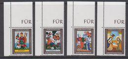 Liechtenstein 1974 Christmas / Weihnachten 4v (corners) ** Mnh (44369) - Ongebruikt
