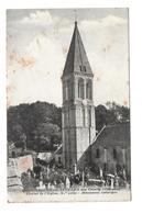 14/ CALVADOS.. . COLOMBIERS Sur SEULLES Par Creully. Clocher De L'Eglise, XIe Siècle. Monument Historique - Frankrijk
