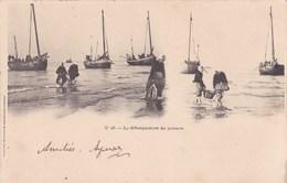 Cpa 26 LE DEBARQUEMENT DU POISSON 1901 - Pêche