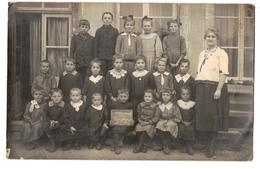 Carte-Photo-Ecole D'Allamont,- L. Cheynet,Joeuf - Altri Comuni