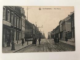 Carte Postale Ancienne La Louvière Rue Neuve - La Louvière