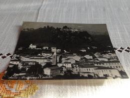 CARTOLINA AULLA-PANORAMA E CASTELLO-VIAGG.1958 - Massa