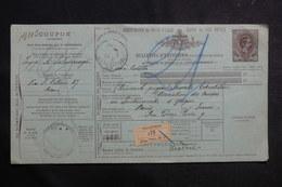 ITALIE - Bulletin De Colis Postal De Milano Pour La France - L 41139 - 1878-00 Humbert I.