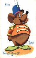 CARTE POSTALE PUBLICITAIRE CHOCOLATS TOBLER  WALT-DISNEY  GUS - Disney