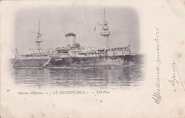 Cpa42 MARINE MILITAIRE LE REDOUTABLE 1902 - Guerre
