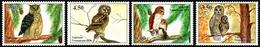 2019 Tajikistan, Birds Of Prey, Owls, 4 Stamps, MNH - Owls