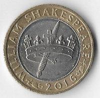 United Kingdom 2016 £2 Shakespeare Histories [C418/1D] - 1971-… : Decimal Coins
