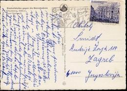 Austria Bischofshofen 1974 / Mountains, Church / Machine Stamp - Poststempel - Freistempel