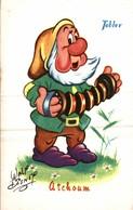 CARTE POSTALE PUBLICITAIRE CHOCOLATS TOBLER  WALT-DISNEY  ATCHOUM - Disney