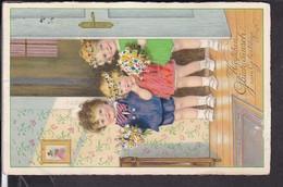 Künstlerpostkarte F.Baumgarten  Geburtstag , Defekt - Baumgarten, F.