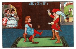 Carte Illustrateur - Margret Boriss - Cendrillon / Cinderella / Aschenputtel - Circulée 1939 - Amag 0412 - 2 Scans - Boriss, Margret