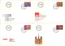 Svizzera 1981 - Propaganda, 4 FDC - Storia Postale